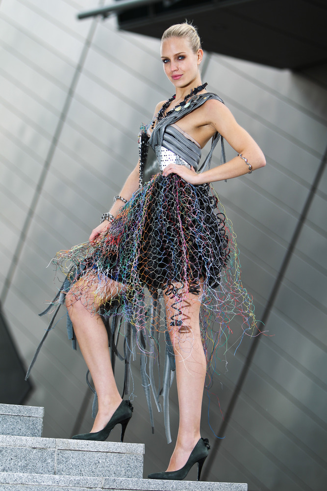 Recyclable Fashion: ERP Junk Kouture Recycled Fashion Competition