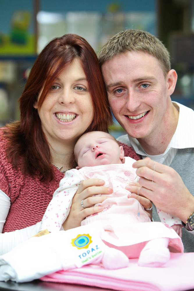 Topazireland Welcome Baby Born At Service Station