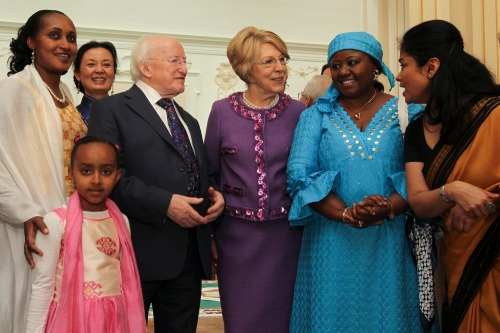 President_higgins_meets_diplomatic_corps-14