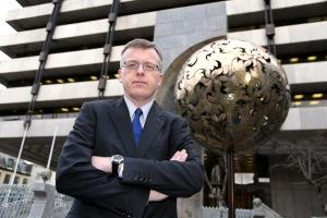 Ireland's financial regulator Matthew Elderfield