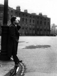 A file pic of Brendan Behan in Dublin.Pic:Pat Maxwell