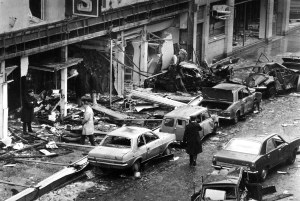TALBOT STREET BOMBING 18-5-74..     PIC: Pat Maxwell