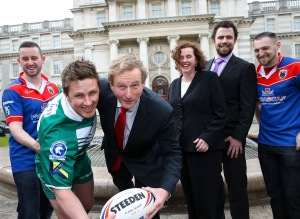 World Rugby's oldest trophy lands in Ireland