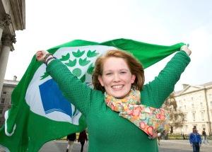 Trinity College Dublin awarded 'Green Flag' for environment