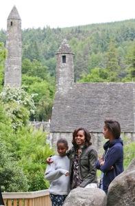 Obama Family at Glendalough mx-7