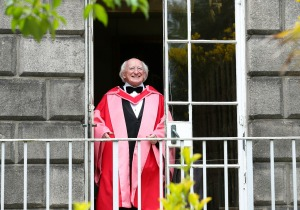 President of Ireland, Michael D Higgins, Irish Historian, Margar