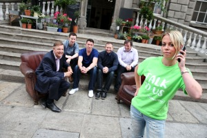 Samaritans Encouraging More Men to 'Talk to Us'